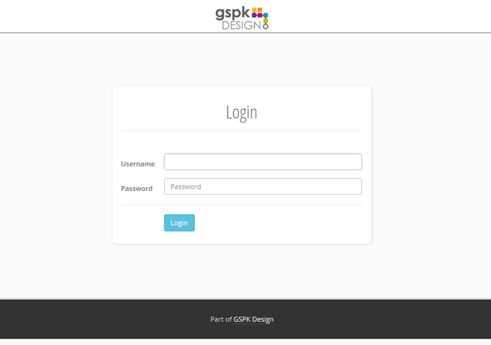 GSPK - Login